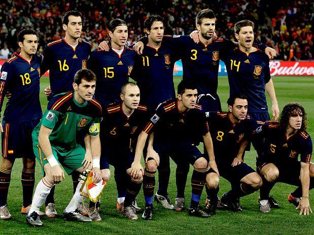 Seleções Imortais – Espanha 2008-2012