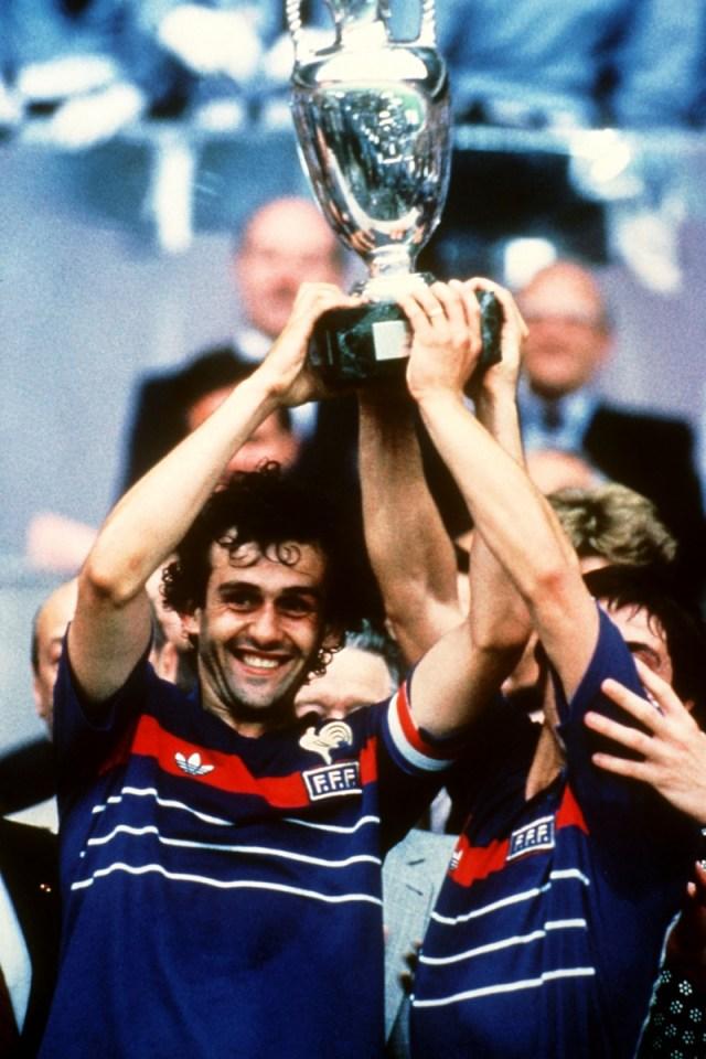 Soccer - 1984 European Championships - Final - France v Spain