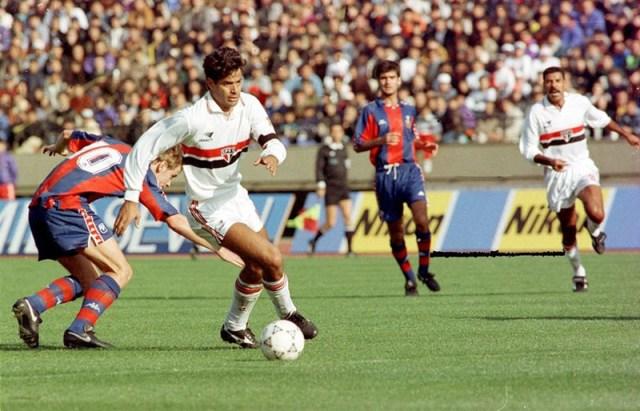 Jogos Eternos – São Paulo 2×1 Barcelona 1992