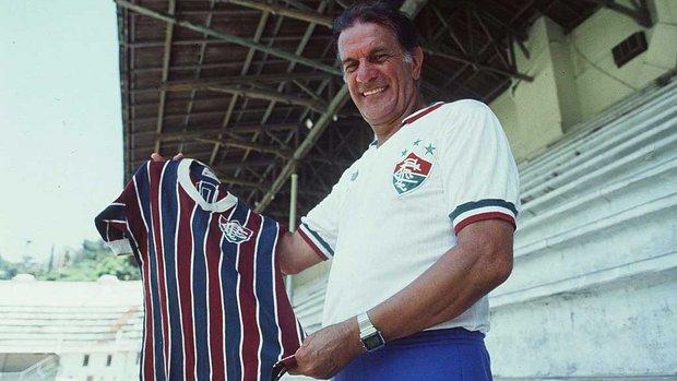 Nas Laranjeiras: um símbolo do Tricolor carioca e ilustre torcedor.