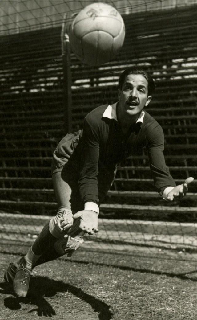 O goleiro Julio Cozzi.