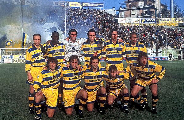 Esquadrão Imortal – Parma 1998-2000