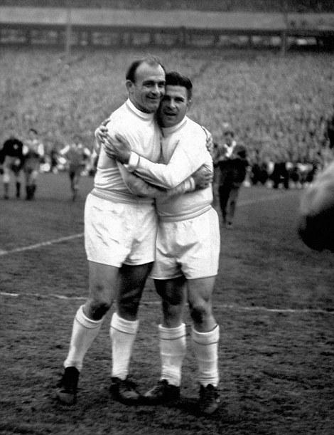 Di Stéfano e Puskás: os gênios e símbolos daquele Real Madrid imortal polarizaram os gols da final.