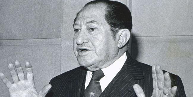 O presidente do Millonarios à época, Alfonso Senior Quevedo.
