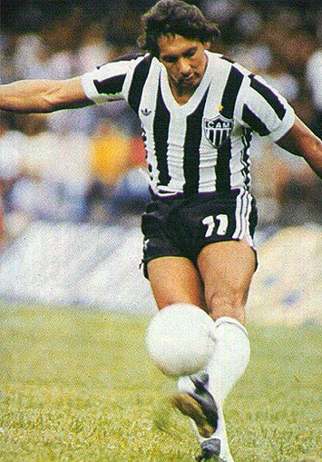 Éder Aleixo: craque da ponta-esquerda foi um dos maiores jogadores do Brasil nos anos 80.