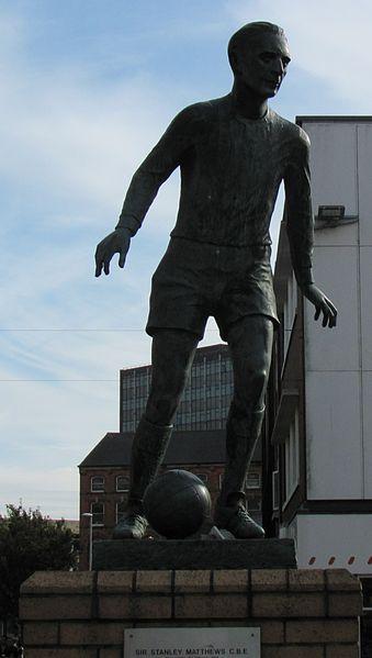 A estátua da lenda.