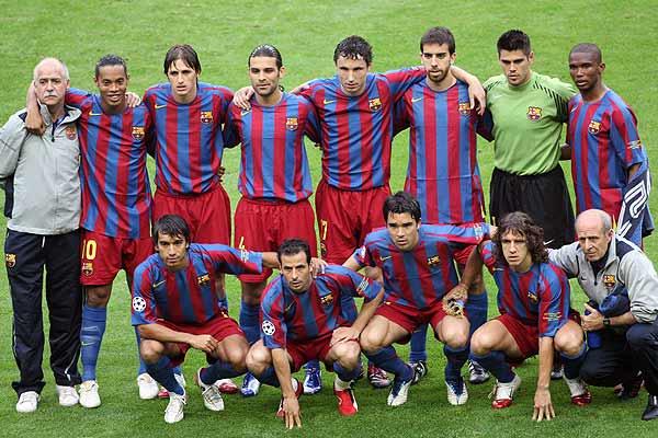 Esquadrão Imortal – Barcelona 2004-2006