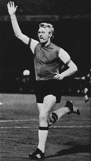 Van Daele vibra: o Feyenoord era campeão mundial.