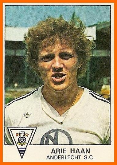 Arie Haan: simplesmente o motor do meio de campo do Anderlecht naquela era de ouro.
