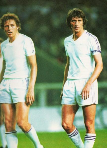 Haan e Rensenbrink: holandeses foram as estrelas de um Anderlecht imortal.