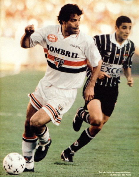 Em 1998, Raí voltou da França, foi para o Morumbi, fez gol no Corinthians e foi campeão paulista. O Timão estava engasgado e queria a vingança...