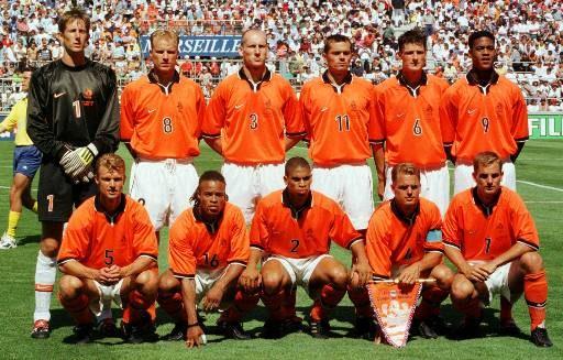 A Holanda de 1998: melhor geração laranja em Copas desde 1974.