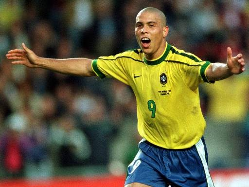 Ronaldo: astro brasileiro era o maior jogador do mundo em 1998.