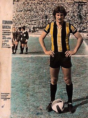 Fernando Morena, um dos maiores ídolos de toda a história do Peñarol.