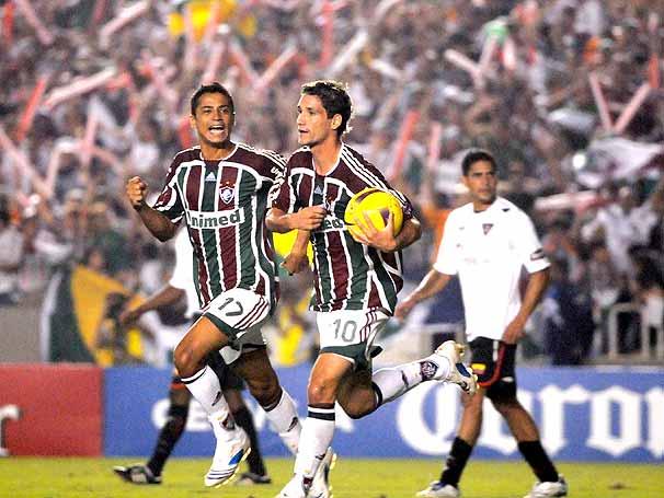 Jogos Eternos – Fluminense 3×1 LDU 2008