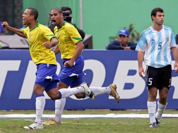 A vibração brasileira após o primeiro tempo poderia se repetir na segunda etapa.