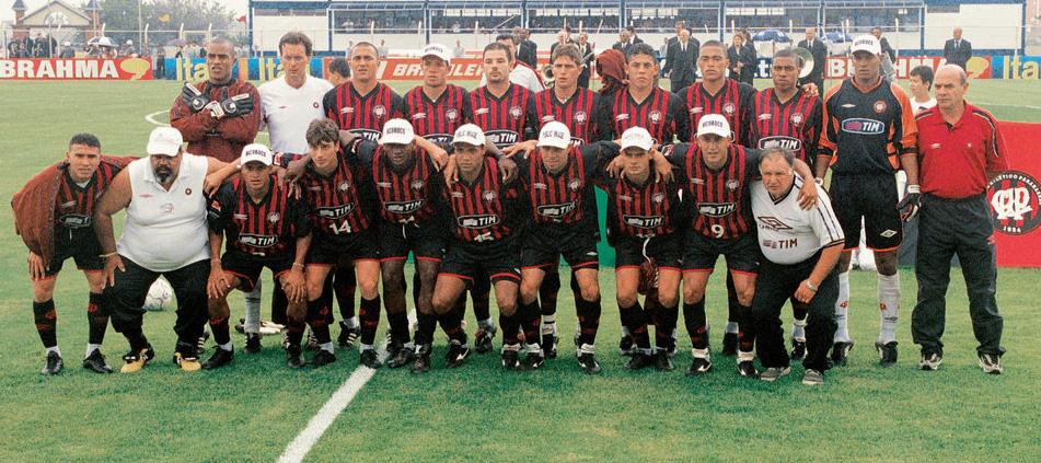 Esquadrão Imortal – Atlético-PR 2001