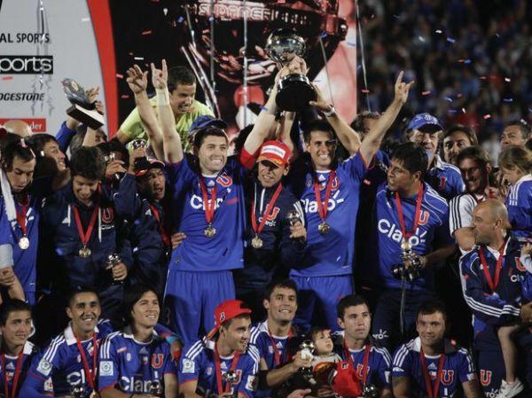 Universidad de Chile campeão Copa Sul-Americana 2011
