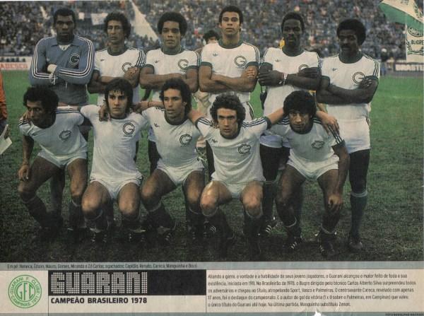 Guarani Futebol Clube - 1978