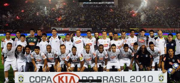 Santos Campeão da Copa do Brasil 2010