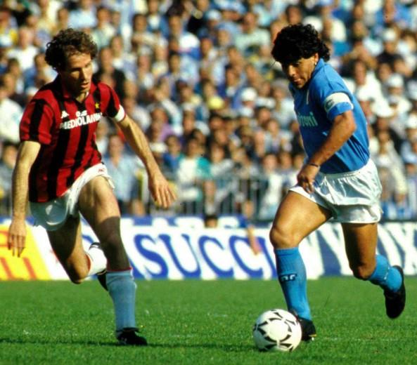 Jogos Eternos – Napoli 4×1 Milan 1988