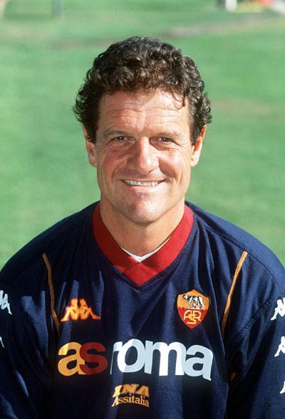 Capello, técnico da Roma.