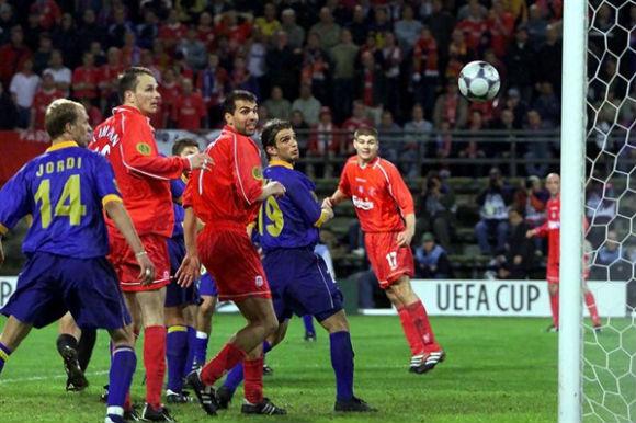 Jogos Eternos – Liverpool 5×4 Alavés 2001