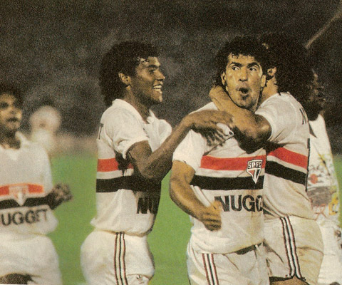 Jogos Eternos – Guarani 3×3 São Paulo 1987