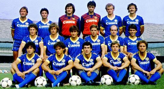 Esquadrão Imortal – Hellas Verona 1984-1985