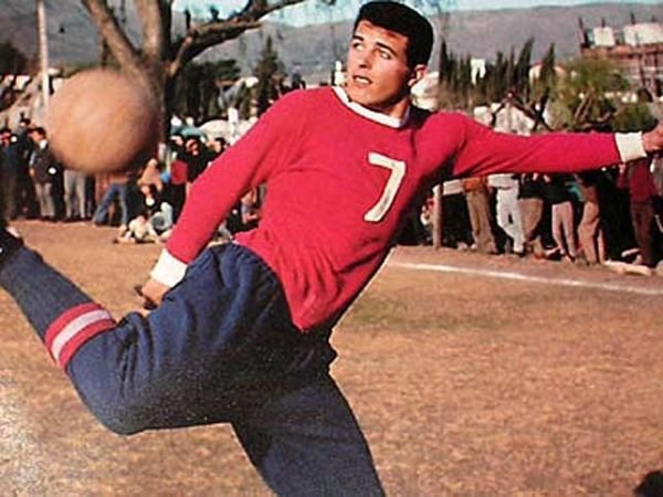 Bernao, uma das estrelas formadas nas bases do Independiente.