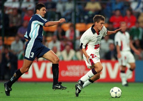 Jogos Eternos – Argentina 2×2 Inglaterra 1998