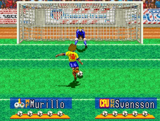 ... E marcou época como o mítico Murillo no International Superstar Soccer Deluxe, para Super Nintendo.