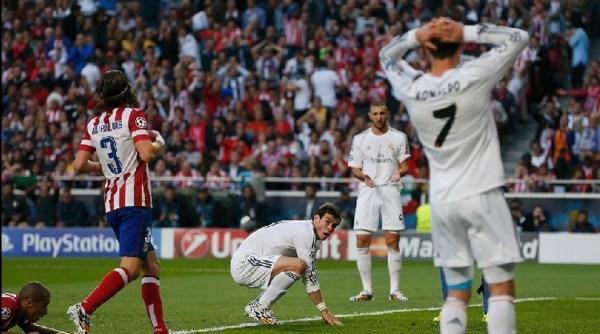 Bale perde uma chance: atacante desperdiçou três boas oportunidades durante o tempo regulamentar.