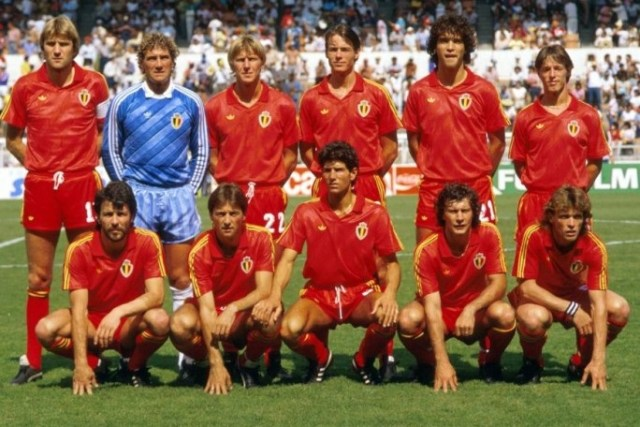 Seleções Imortais – Bélgica 1980-1986