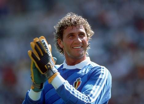 Pfaff, grande nome da Bélgica na Copa de 1986.