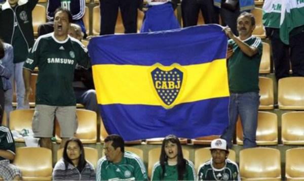 ... Assim como os palmeirenses torceram pelo Boca em 2012. Um rival, definitivamente, não vive sem o outro.