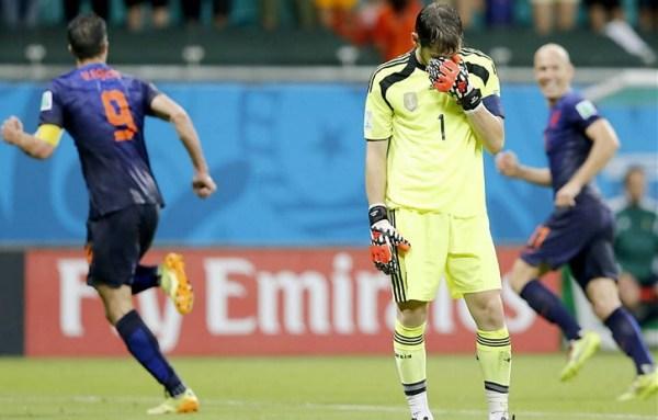 Decepção de Casillas...