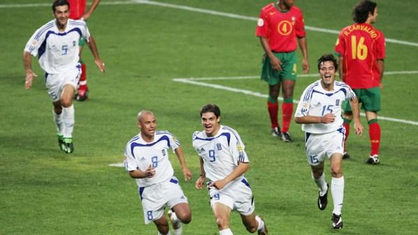 ... E a celebração: Grécia no topo da Europa!