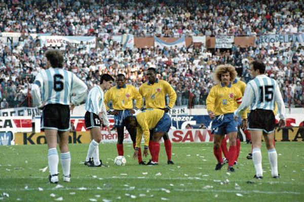 Jogos Eternos – Argentina 0x5 Colômbia 1993