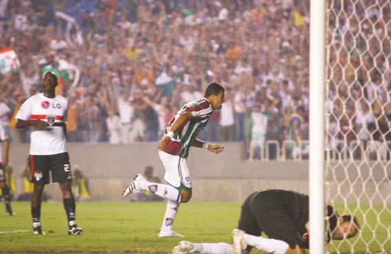 Queda para o Fluminense de Washington na Libertadores de 2008 foi traumática.