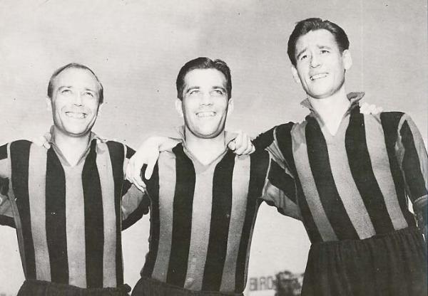 GREn, NOrdahl e LIedholm: o trio mais famoso da história do futebol sueco.