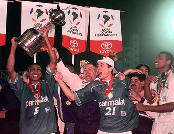 Em 1999, o Palmeiras conquistou, enfim, a Libertadores que escapou em 1995.