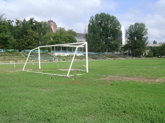 O velho Zenit Stadium no dias atuais.