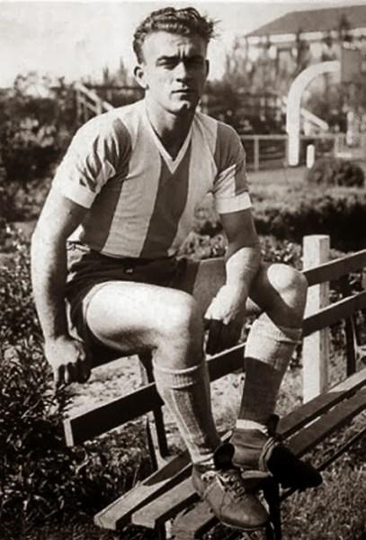 O jovem Alfredo com a camisa argentina: cena rara, mas inesquecível.
