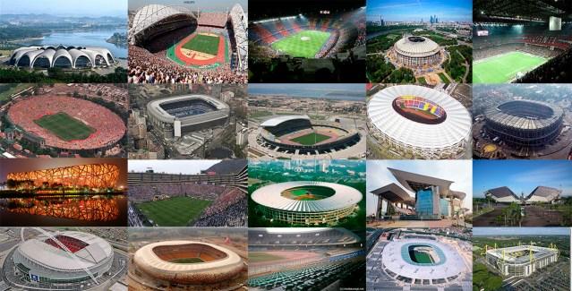 Os 20 Maiores Estádios do Mundo