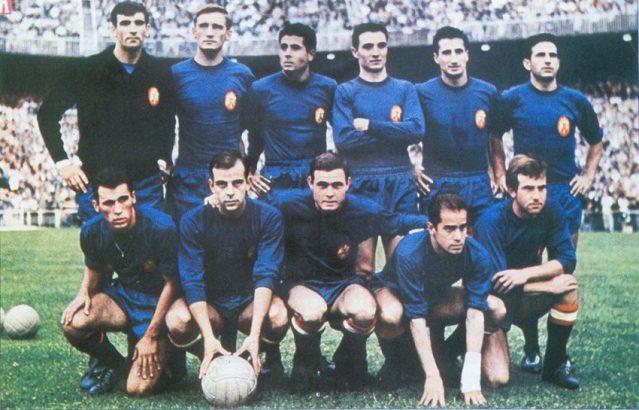 Seleções Imortais – Espanha 1964
