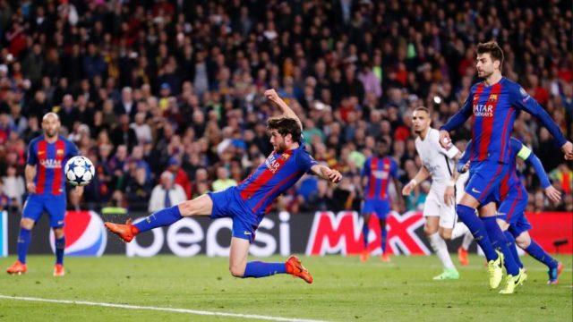 Jogos Eternos – Barcelona 6×1 PSG 2017