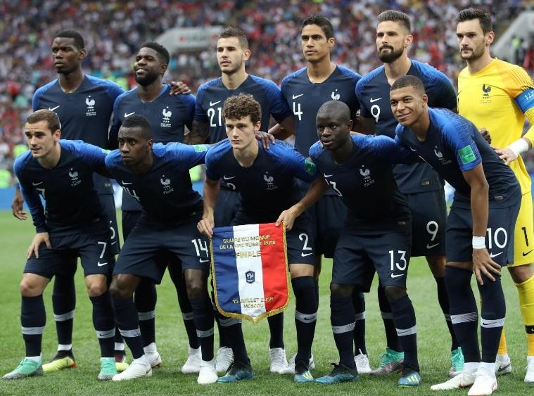 2d58a61266 Seleções Imortais - França 2016-2018 - Imortais do Futebol
