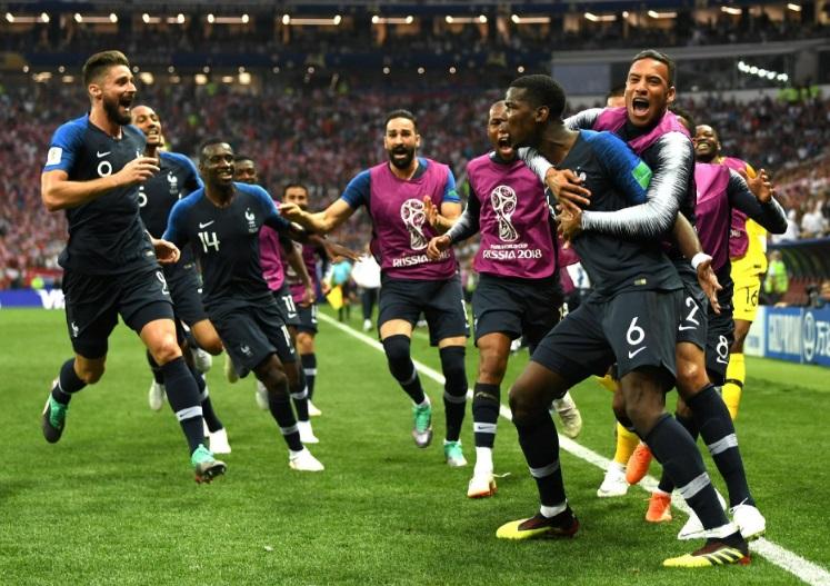 58311ce6df Festa de Pogba e dos jogadores  França foi mais venenosa do que nunca na  decisão. Foto  Shaun Botterill   Getty Images.