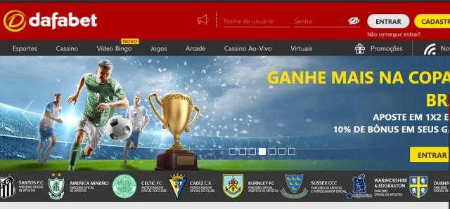Dafabet Brasil – Conheça esta Plataforma de Apostas Esportivas